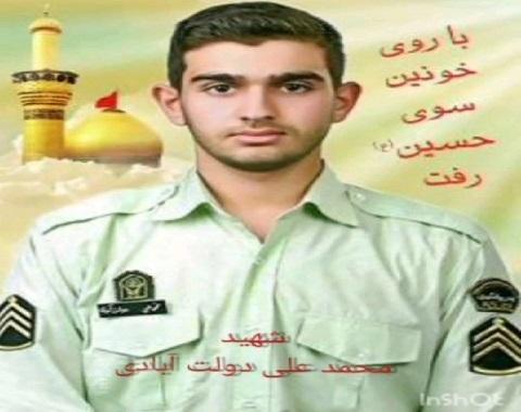 تکریم خانواده شهید در روز وفات حضرت ام البنین
